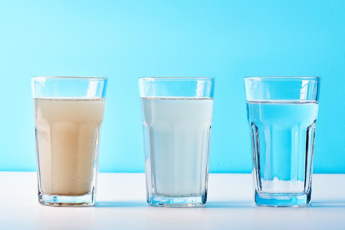 Tipos de filtración del agua